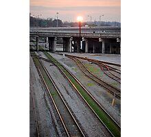 three paths Photographic Print