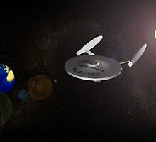NCC - 1701 ENTERPRISE by ArtJr2
