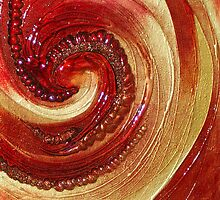 ABSTRACT TEXTURAL CANVAS ~ HELIX by LacewingDesign