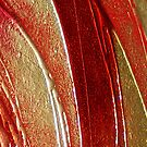 ABSTRACT TEXTURAL 3D CANVAS ~ HELIX #2 by LacewingDesign