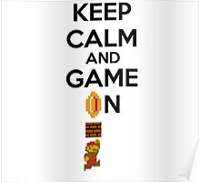 Keep Calm And Game On! Poster