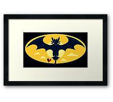 Nightwing Funny Geek Nerd Framed Print