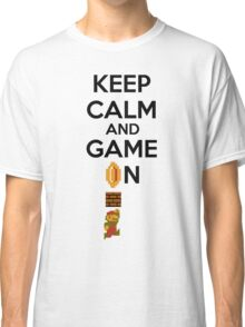 Keep Calm And Game On! Classic T-Shirt