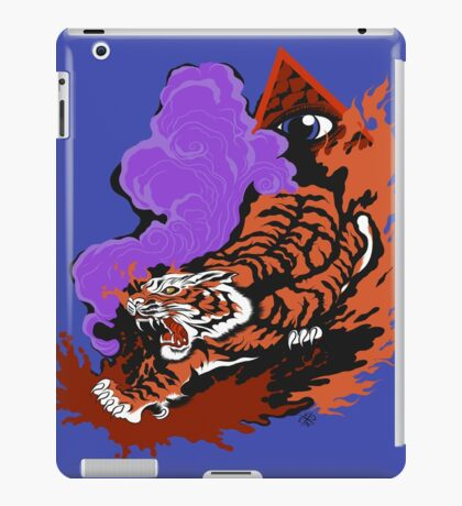 Tablet Cases, Eye Of The Tiger: iPad Case/Skin