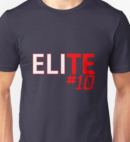 Eli Manning Elite #10 - Giants Unisex T-Shirt