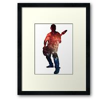 Metal Milkyway \m/ Framed Print