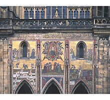 Mural, St. Vitus' Cathedral, Prague Photographic Print