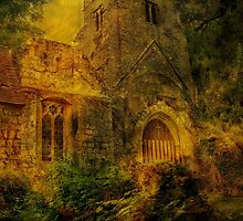 Eastwell Ruins by Dave Godden