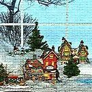 Window Village Display by Geno Rugh