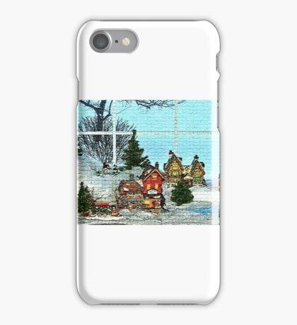 Window Village Display iPhone Case/Skin