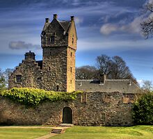 Scottish Castle by Mark Andrew Turner
