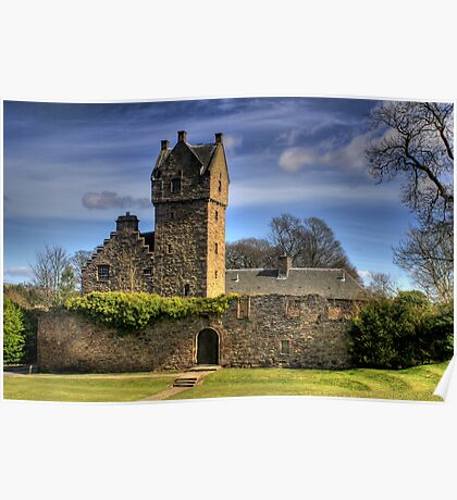 Scottish Castle Poster