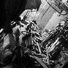 Andre Olliers atelier 2008 by sophia burns