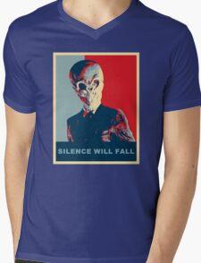 The Silence Mens V-Neck T-Shirt