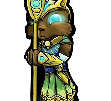 Nasus Chibi by iampickledtink