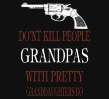 GUNS DON'T KILL PEOPLE by sophiafashion