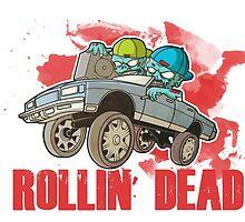 The Walking Dead - The Rollin' Dead - TWD Parody by ptelling