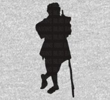 Bilbo Baggins and His Silhouette Kids Clothes