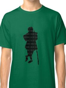 Bilbo Baggins and His Silhouette Classic T-Shirt