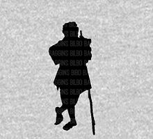 Bilbo Baggins and His Silhouette Unisex T-Shirt