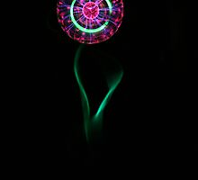 Electric Dandelion by NewDawnPhoto