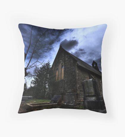 beverley church Throw Pillow