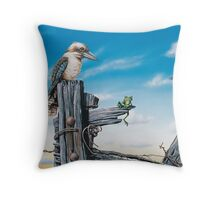 Oh S*!t Throw Pillow