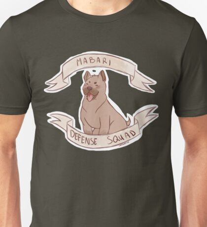 Dragon Age: Origins - MABARI DEFENSE SQUAD Unisex T-Shirt