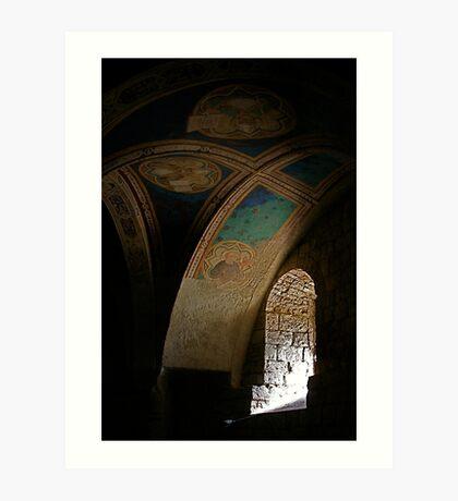 Piety and Light Art Print