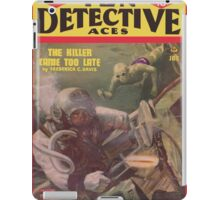Ten Detective Aces - January 1945 iPad Case/Skin