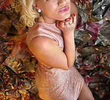Pink Barbie by Maureen  Geraghty