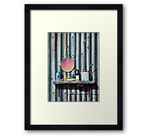 The Bug Catcher Framed Print