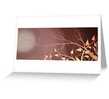 COPPER BIRCH~ SILHOUETTE COLLECTION ~OIL & ENAMELS Greeting Card