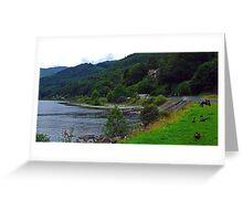 Loch Earn Greeting Card