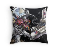 NASA Must be Scraping the Bottom of the Barrel Throw Pillow