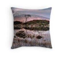 Rannoch Reeds Throw Pillow