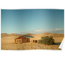 Deserted Farmhouse, Burra, South Australia Poster