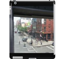 View From The High Line, NYC iPad Case/Skin