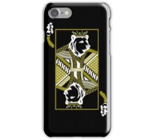 King Of Cali (White and Gold) iPhone Case/Skin