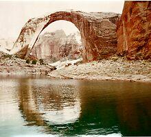 Rainbow Bridge National Monument, Utah by F.  Kevin  Wynkoop