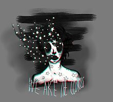We are the Cosmos by yokebean