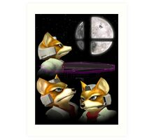 20XX: Three Fox Moon Art Print