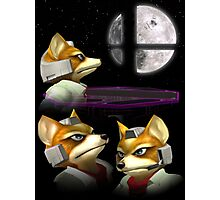 20XX: Three Fox Moon Photographic Print