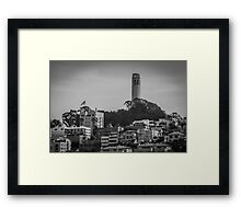 Coit Tower View from San Francisco's Waterfront Framed Print