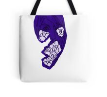 'Indigo Rose' Tote Bag