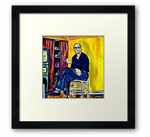 Smokin in the Kitchen Framed Print