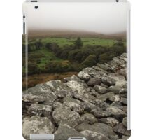 Ireland - Staigue Fort Top View iPad Case/Skin