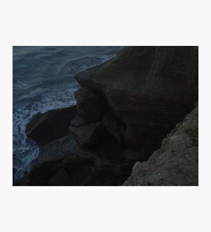 Above the crashing deep Photographic Print