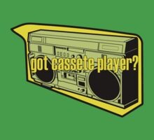 GOT CASETTE PLAYER by SofiaYoushi