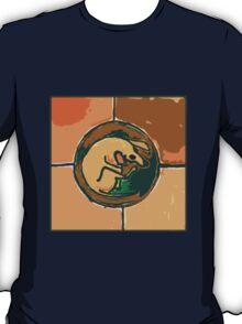 SLEEPING ORANGE DOG  T-Shirt